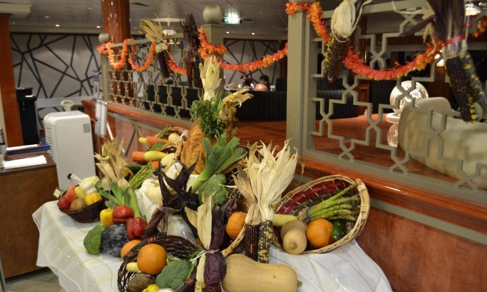 Thanksgiving Dinner On A Cruise Ship