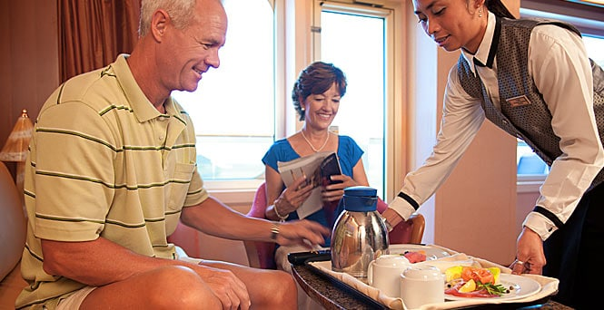 Carnival Cruise Line Reverses Room Service Change
