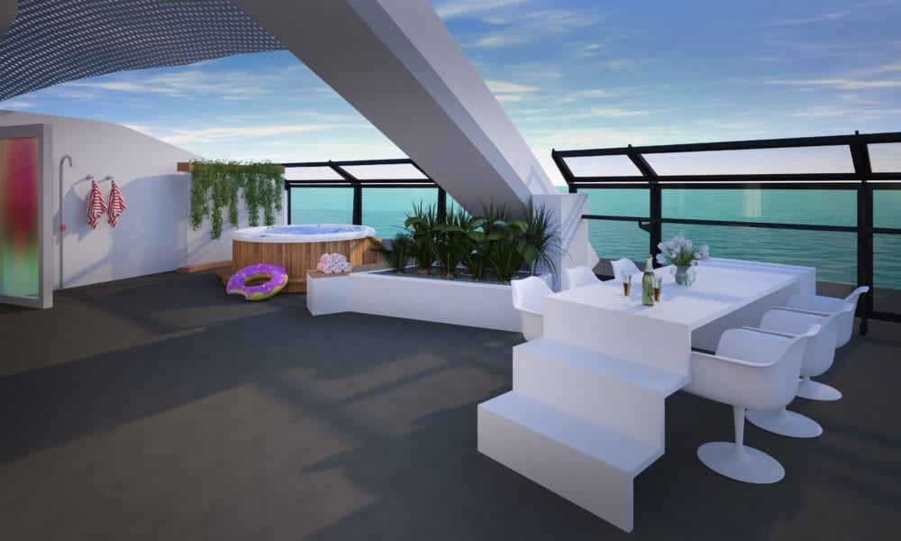 Virgin's Cruise Ship To Feature Unbelievable Suites [photos]