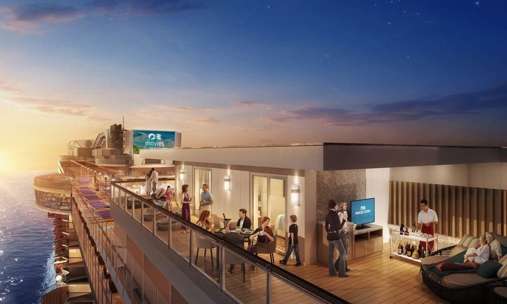 Cruise Line Announces Largest Balconies at Sea