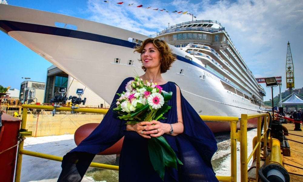 Viking Celebrates Delivery of Newest Ship