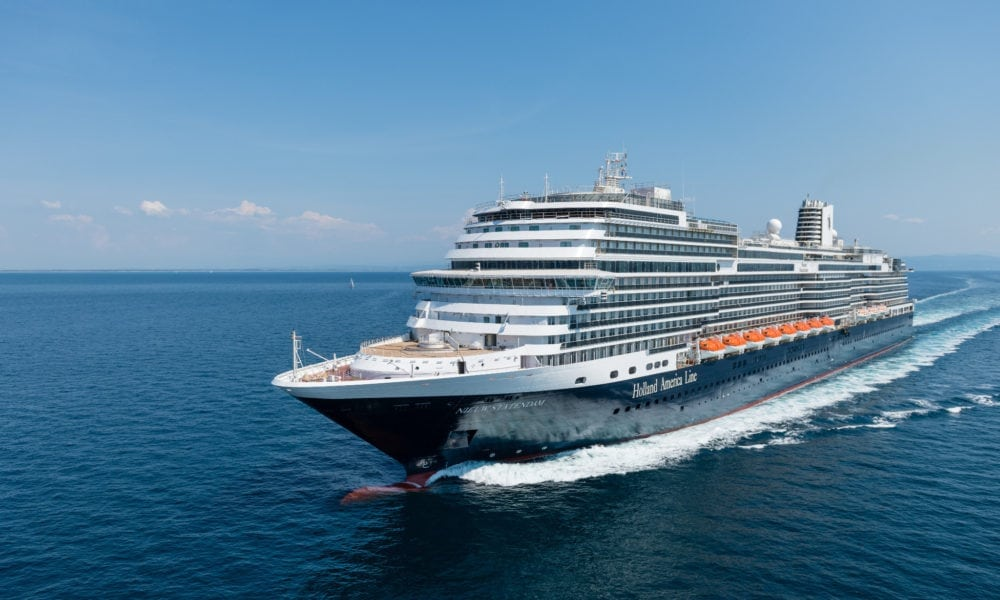 Holland America Line Replays Live Stream for New Ship Christening