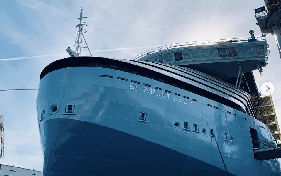 Richard Branson's First Cruise Ship Hits Major Milestone