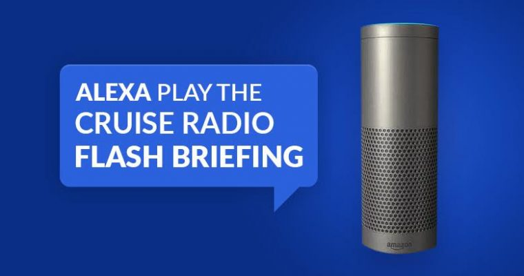 Cruise News Now On Your Alexa Device