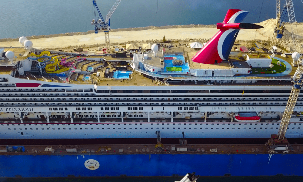 9 Carnival Freedom Dry Dock Changes [PHOTOS]