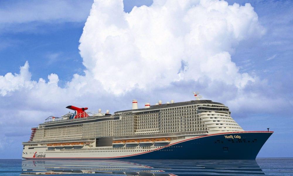 Carnival Names Captain of Mega Ship Mardi Gras