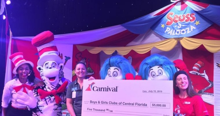 Carnival Cruise Line Kids Read 250 Million Dr. Seuss Words in Challenge