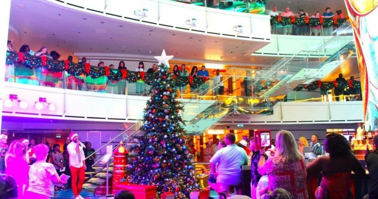 Carnival Announces 2019 Christmas Decorating Schedule