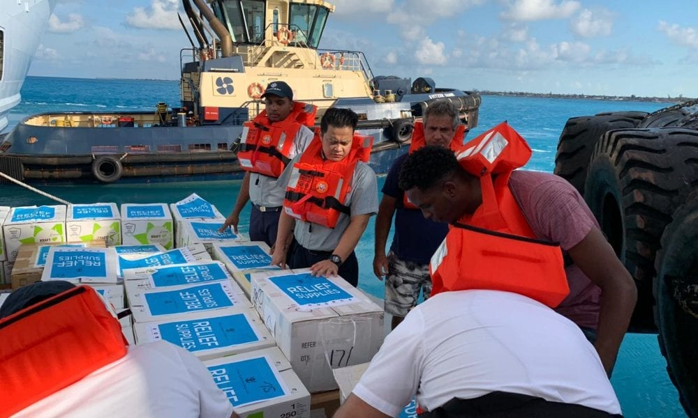 Royal Caribbean is Providing 20,000 Daily Meals in Bahamas