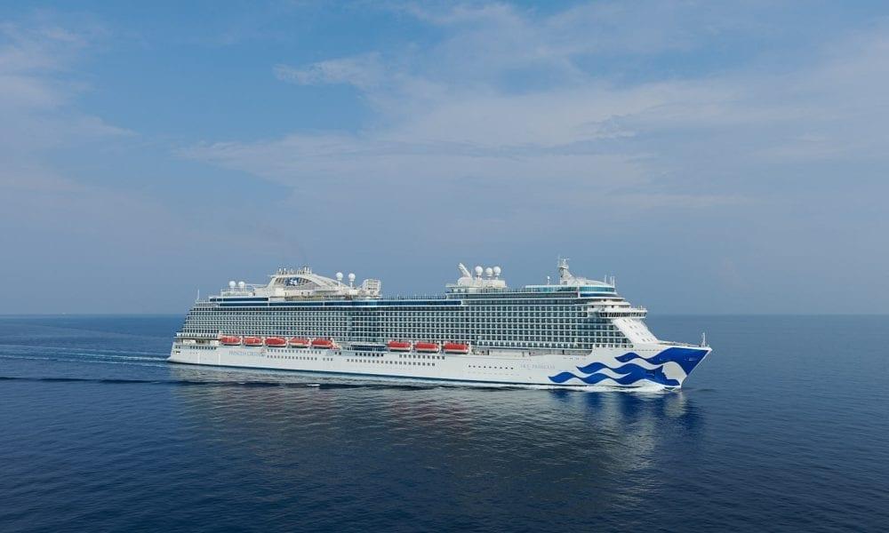 Upcoming Princess Cruise Ship Completes Sea Trials