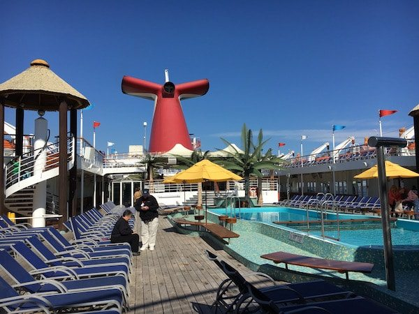 Carnival Cruise Ship Heads To Dry Dock