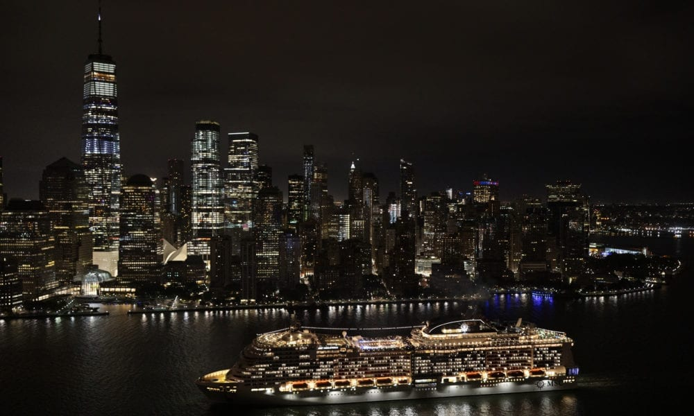 Cruise Ship Becomes Largest To Ever Dock In New York City