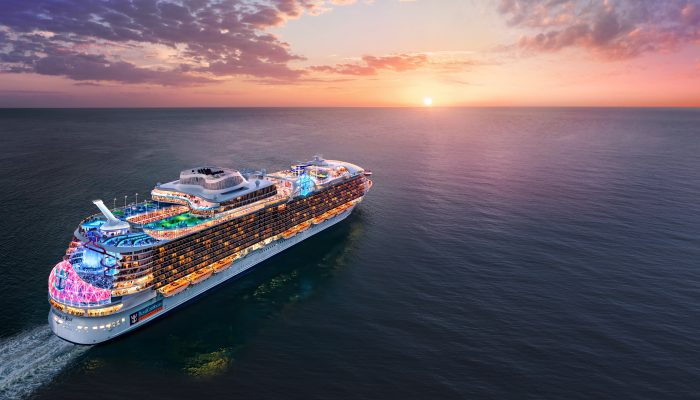 Royal Caribbean Names Fifth Oasis-Class Cruise Ship