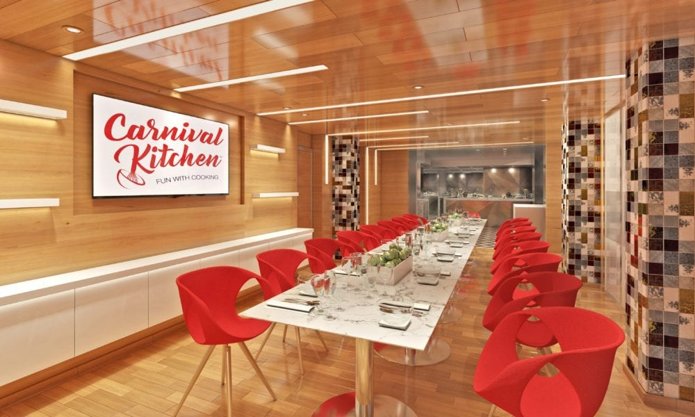 Carnival Cruise Line Rolls Out New Food Concept