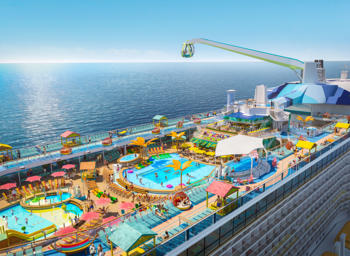 New Royal Caribbean Ship to Homeport in Rome