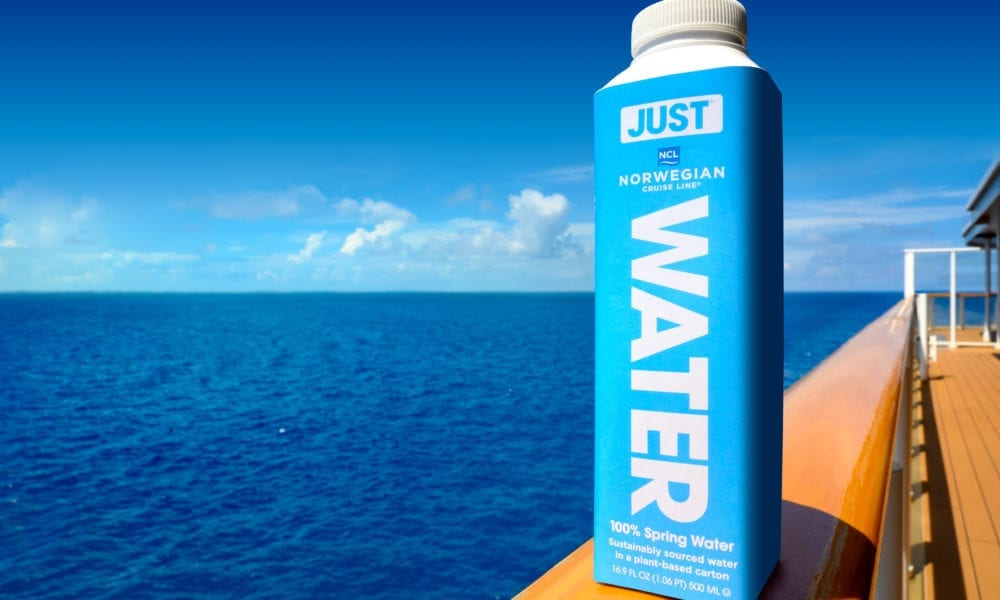Cruise Line Eliminates Plastic Water Bottles Across Fleet