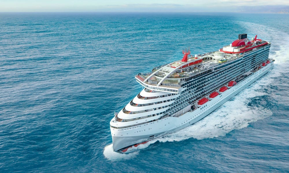 Richard Branson's Adults-Only Cruise Ship is Delivered