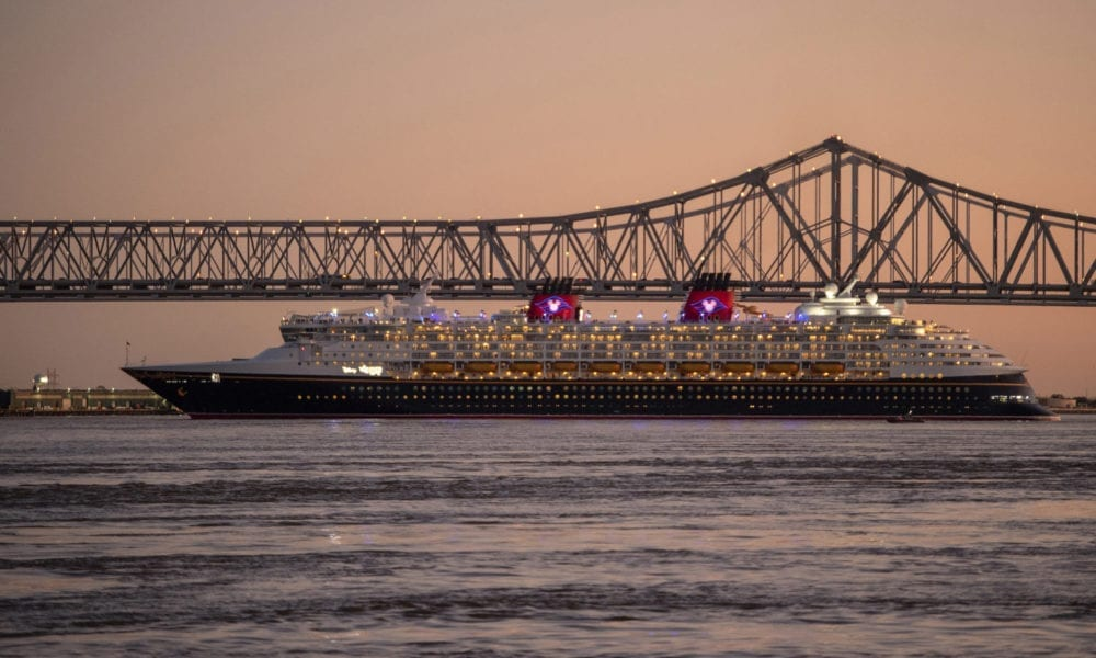 Disney Cruise Line Starts Inaugural New Orleans Sailings