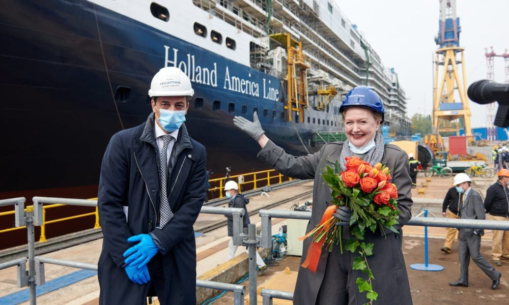 Holland America Ship Completes Maritime Tradition, Float Out Next Week