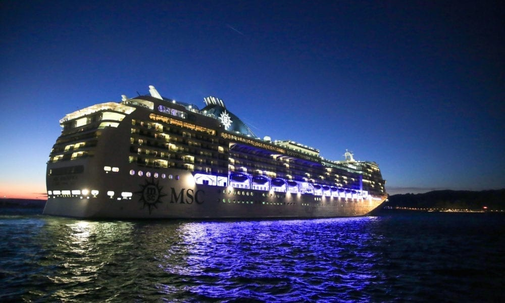 Second MSC Cruise Ship Resumes European Sailings