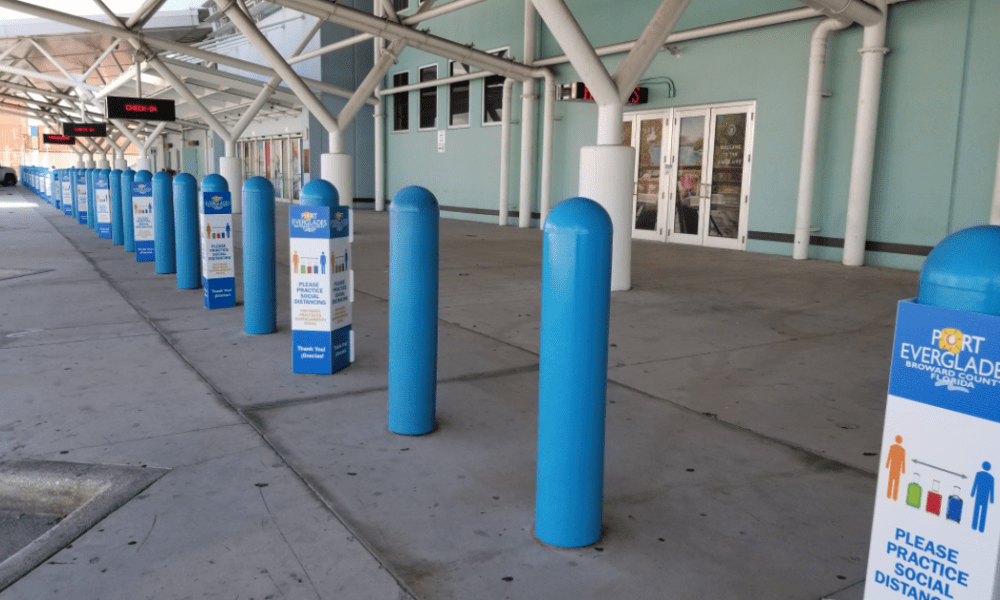 Port Everglades Cruise Terminal Upgrades [PHOTOS]