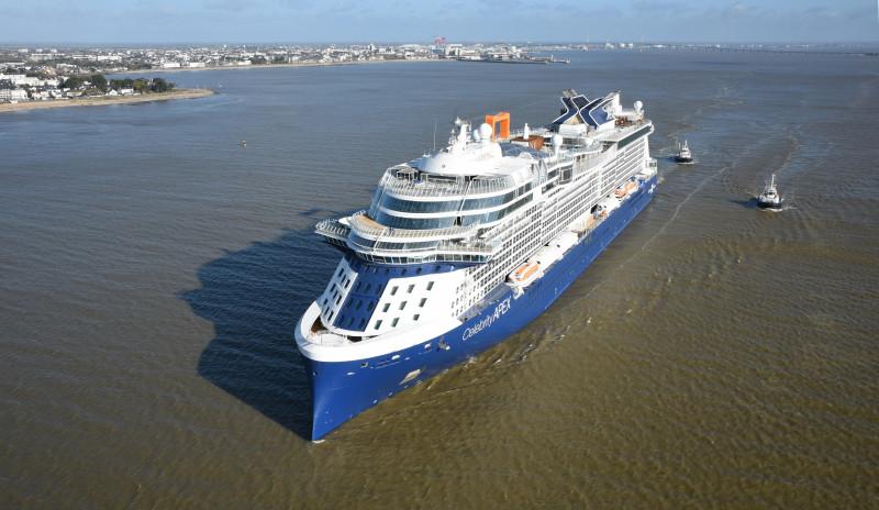 New Celebrity Cruise Ship Heads Towards Florida