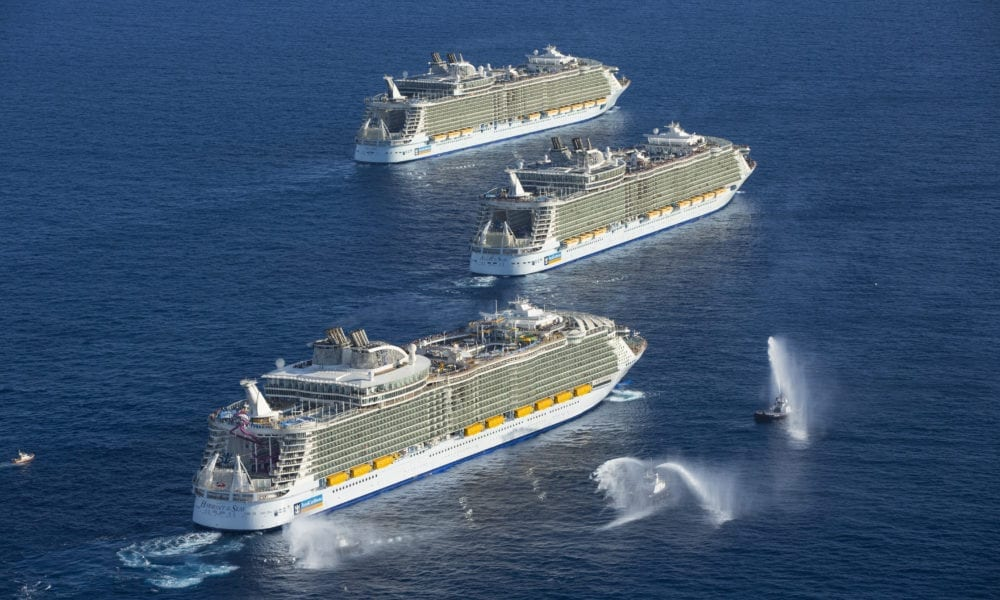 Over 100,000 Volunteer For Royal Caribbean Trial Cruises