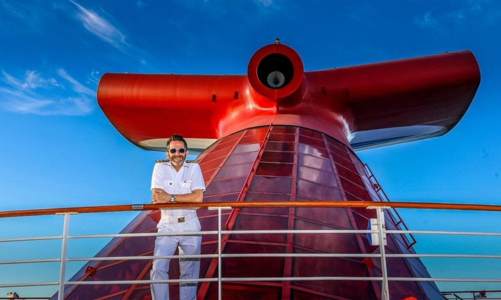 Carnival Captain Shares Journey Back To Cruise Ship [PHOTOS]