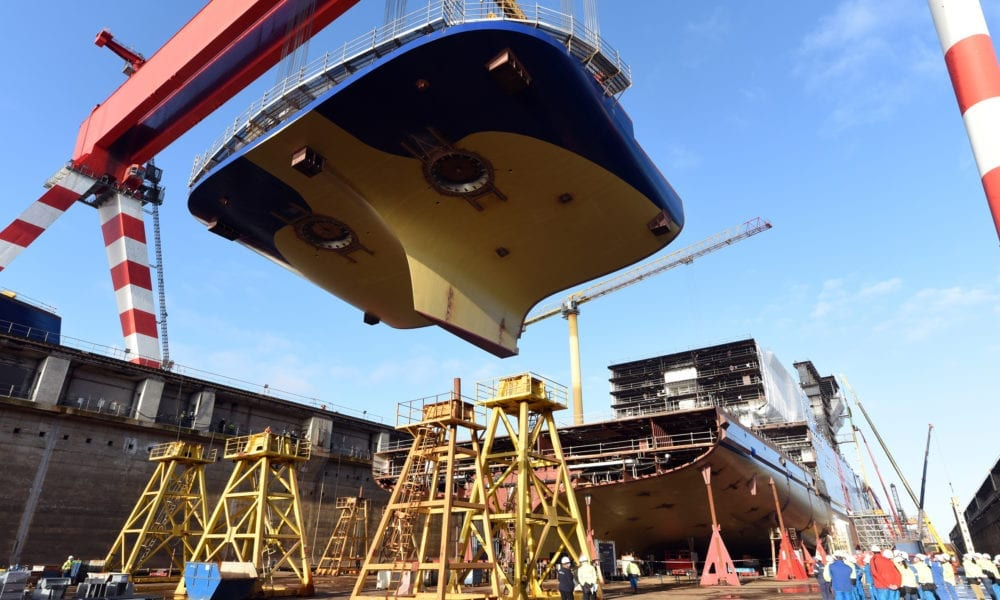 Keel and Coin Laid For Next Celebrity Cruise Ship