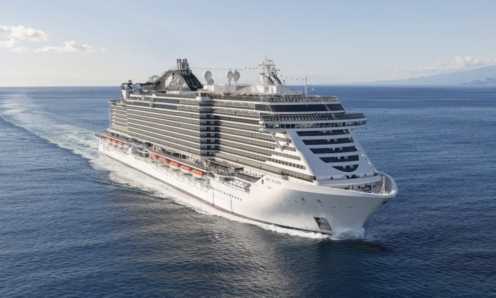 MSC Cruises Postpones US Return til 2021