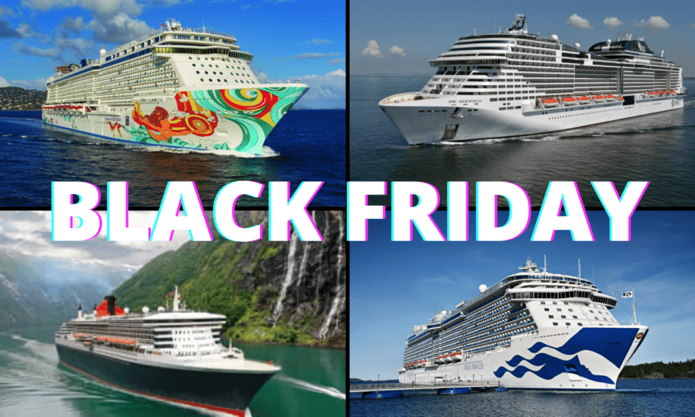 Multiple Cruise Lines Announce 2020 Black Friday Deals