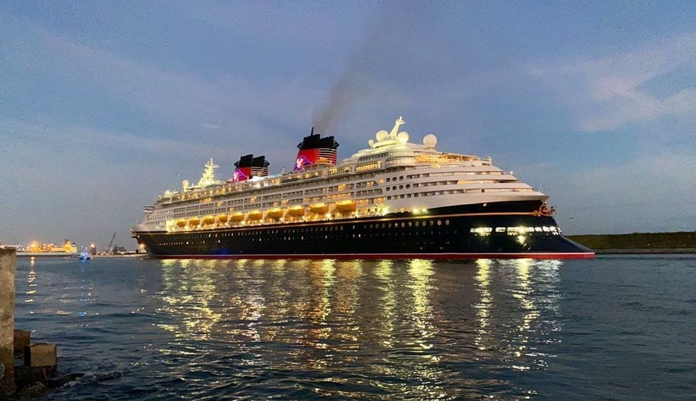 Disney's First Cruise Ship Returns to Port Canaveral