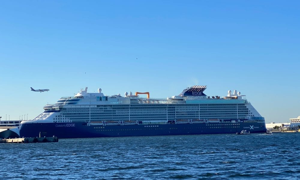 Celebrity Edge Returns to Port Everglades [PHOTOS]