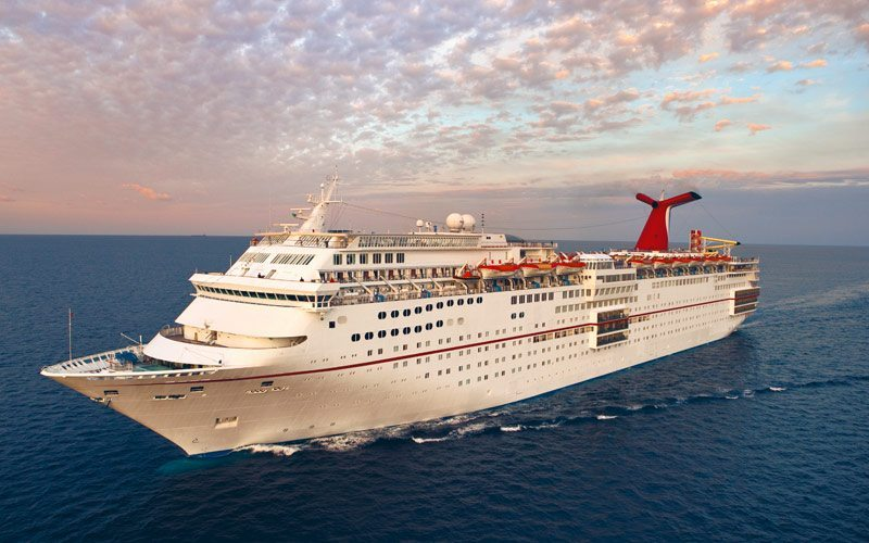 Former Carnival Ship Converts to a Floating Hotel