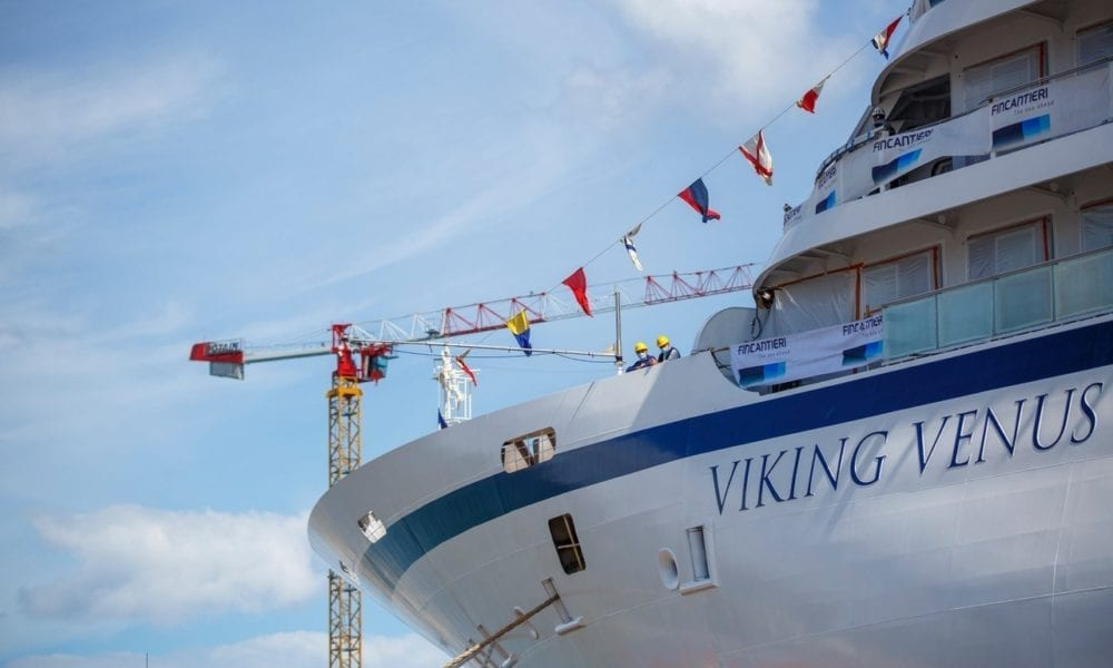 Viking Announces Godmother of New Ocean Cruise Ship