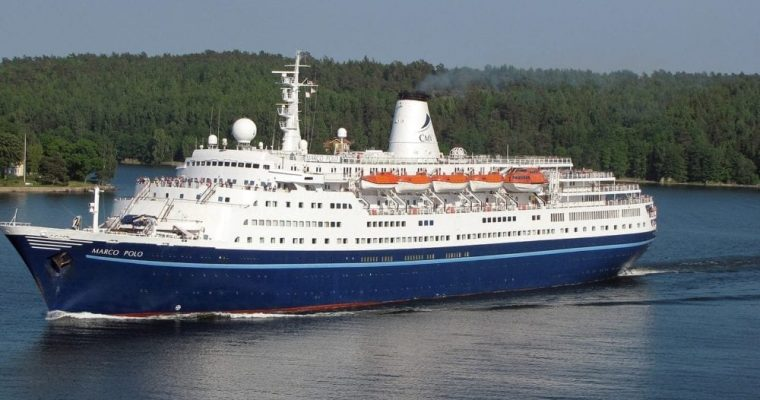 55-Year-Old Cruise Ship Heads For Scrapyard