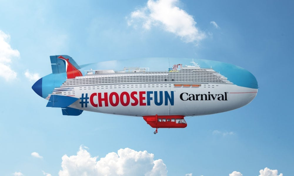 Carnival Cruise Line Debuts New Type of Ship