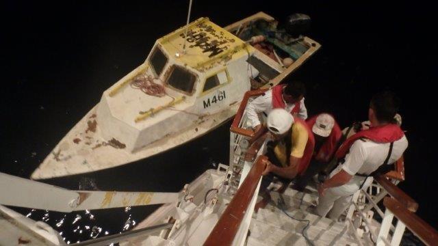 Carnival Cruise Ship Rescues Stranded Fishermen