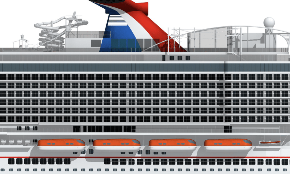 Mega Carnival Cruise Ship Will Head To Port Canaveral