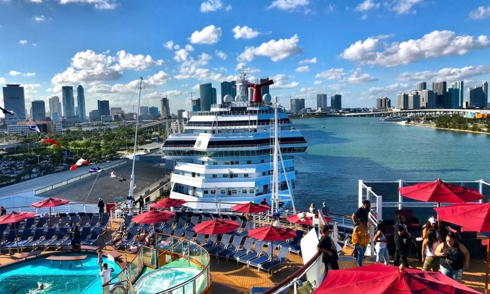 New Option for Carnival Cruise Line Boarding Photos