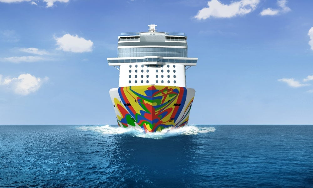 Check Out Norwegian Cruise Ship's New Hull Art [Photos]
