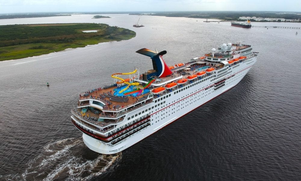 Florida Port Breaks Record with Carnival Cruise Ship