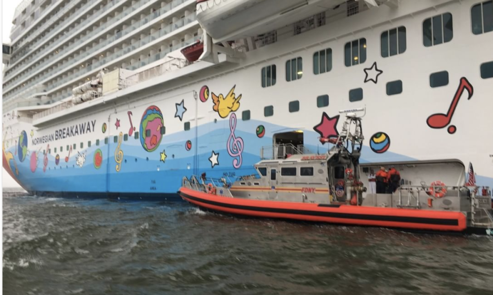 Norwegian Halloween Cruise Gets Off To A Rough Start