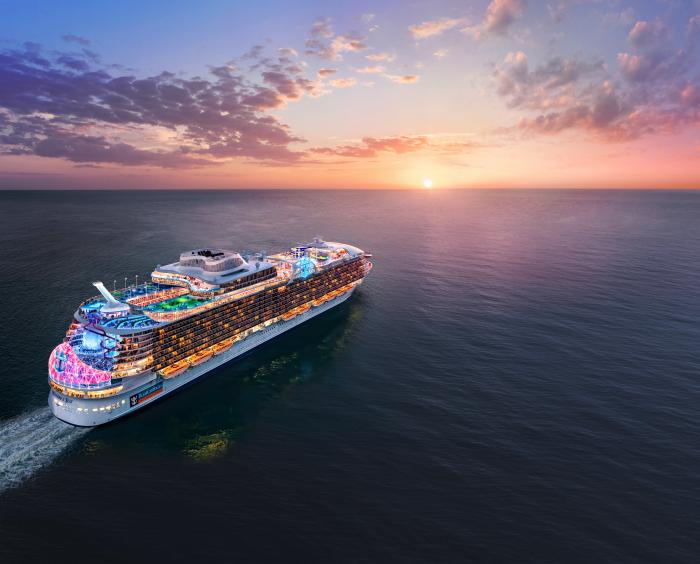 Royal Caribbean Names Fifth Oasis-Class Cruise Ship