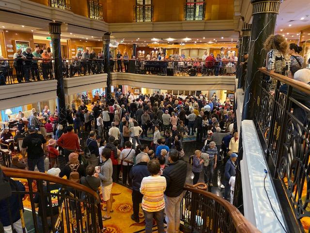 Upset Cruise Ship Passengers Rally For Refund