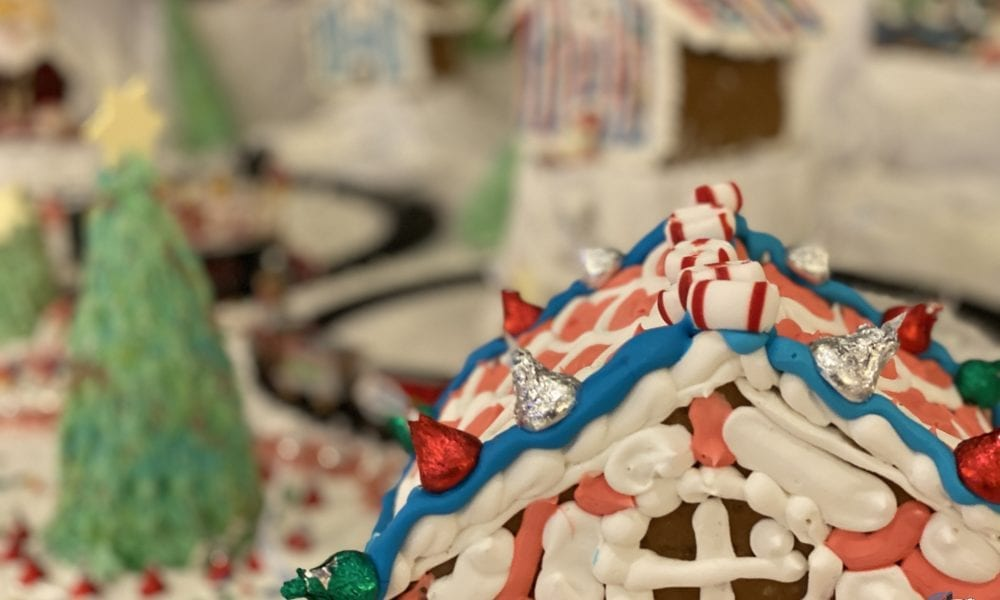 Gingerbread Christmas Villages on Norwegian Sky