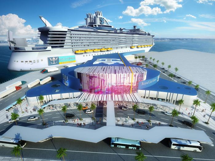 Royal Caribbean Will Bring Mega Cruise Ship to Texas