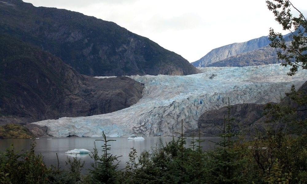 Visiting Mendenhall Glacier in Juneau, Alaska