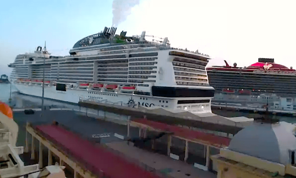 First Major Cruise Line's Emotional Return To Service [PHOTOS]