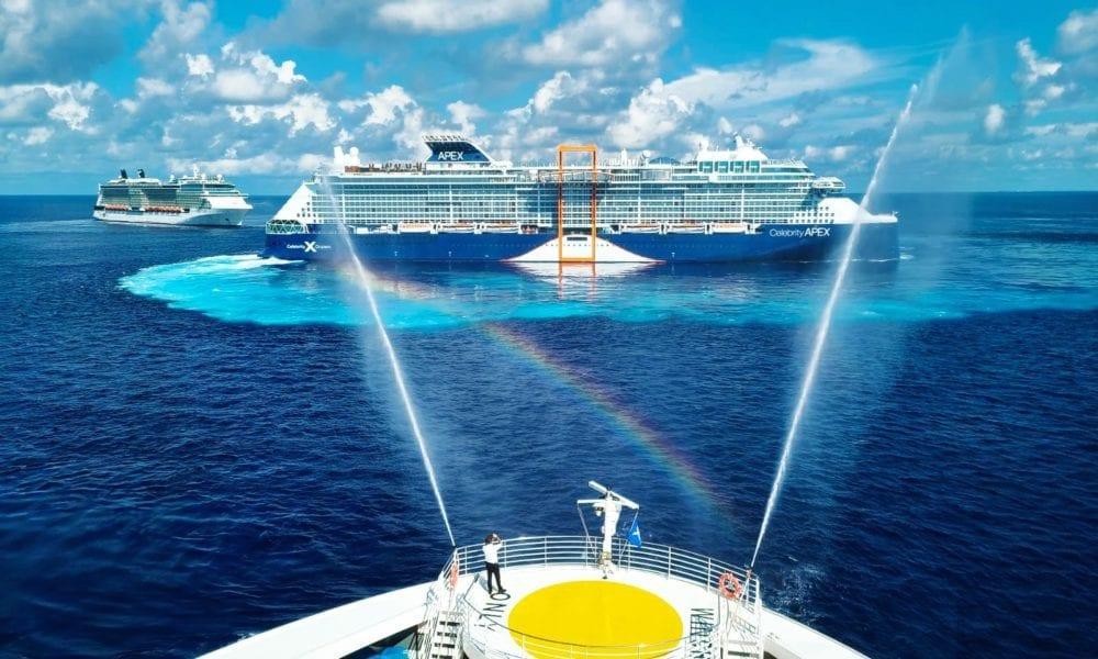 Brand New Celebrity Cruise Ship Arrives The Bahamas [PHOTOS]